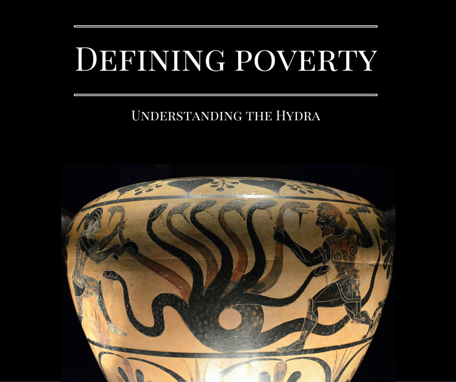 Do you define poverty ? Understanding the Hydra… by Brian Ritchie