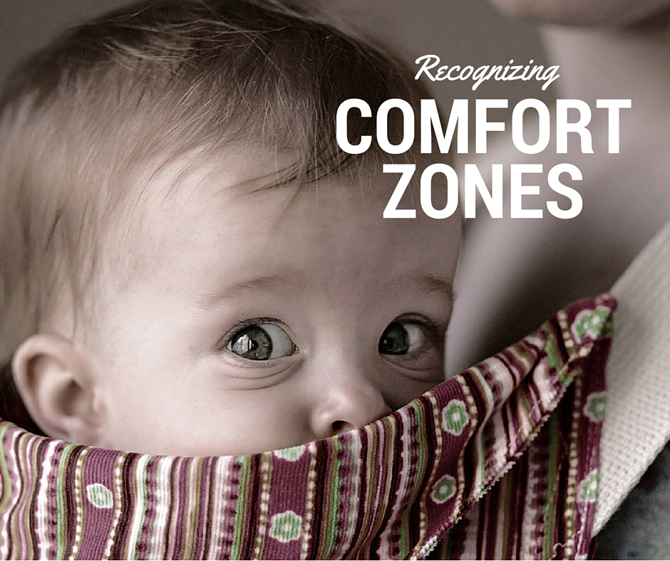 Recognizing Comfort Zones by Brian Ritchie