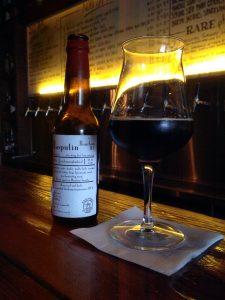 Drinking De Molen's Bourbon Barrel-aged Rasputin at BitterPhew